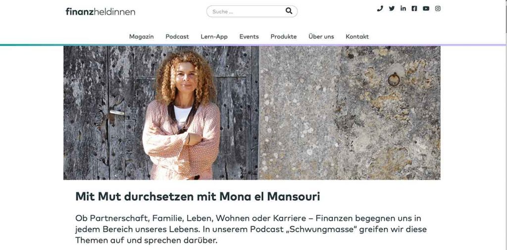 Charisma training podcast , teil eines karriere coachings oder life coaching für frauen